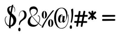 Pugsley Regular Font OTHER CHARS