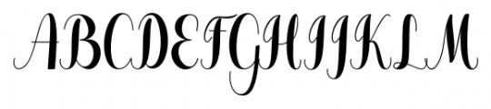 Pugsley Regular Font UPPERCASE