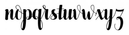 Pugsley Regular Font LOWERCASE