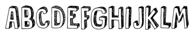 Pusekatt Regular Font UPPERCASE