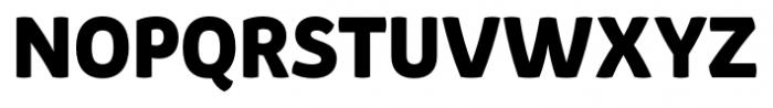 Pusia Bold Font UPPERCASE