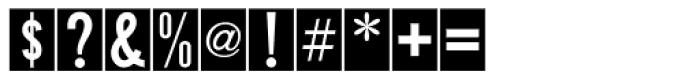 Public Utility JNL Font OTHER CHARS
