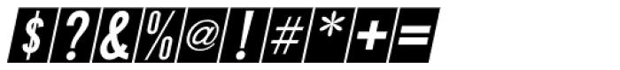 Public Utility Oblique JNL Font OTHER CHARS