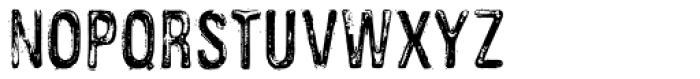 Public Works Font LOWERCASE