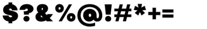 Publica Sans Black Font OTHER CHARS