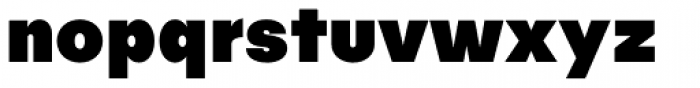 Publica Sans Black Font LOWERCASE