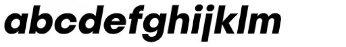 Publica Sans Bold Italic Font LOWERCASE