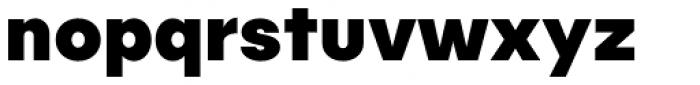 Publica Sans Extra Bold Font LOWERCASE