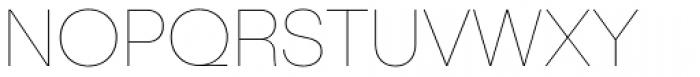 Publica Sans Extra Light Font UPPERCASE