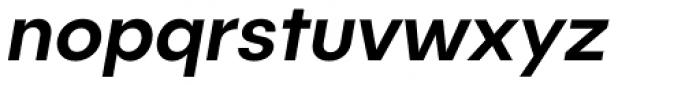 Publica Sans Medium Italic Font LOWERCASE
