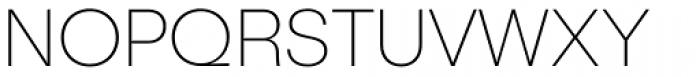 Publica Sans Thin Font UPPERCASE