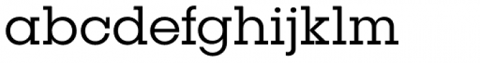 Publica Slab Light Font LOWERCASE