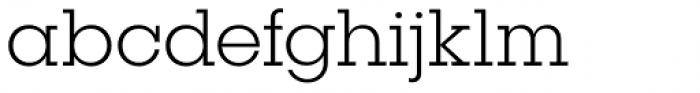 Publica Slab Ultra Light Font LOWERCASE