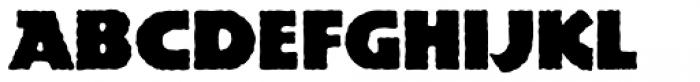 Publicity Gothic Font LOWERCASE
