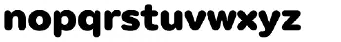 Puck Black Font LOWERCASE