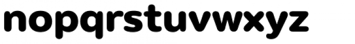 Puck Extra Bold Font LOWERCASE