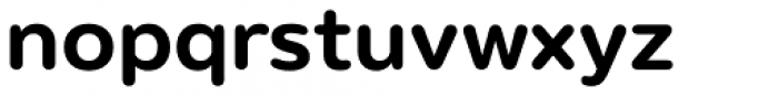 Puck Semi Bold Font LOWERCASE