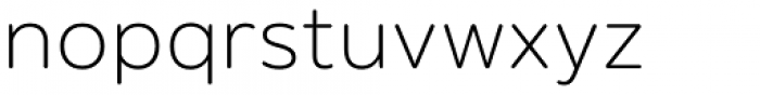Puck Thin Font LOWERCASE