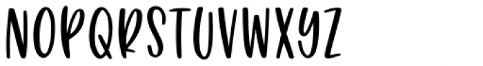 Puckery Tart Regular Font UPPERCASE