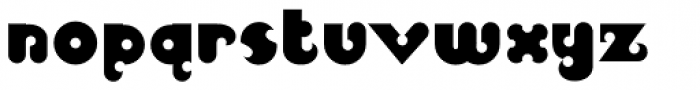 Pucky Font LOWERCASE