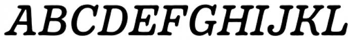 Pueblito Book Italic Font UPPERCASE