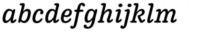 Pueblito Book Italic Font LOWERCASE