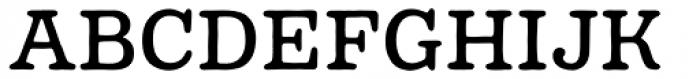 Pueblito Book Font UPPERCASE