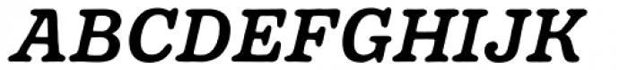 Pueblito Medium Italic Font UPPERCASE