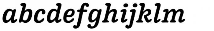 Pueblito Medium Italic Font LOWERCASE