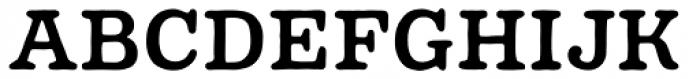 Pueblito Medium Font UPPERCASE
