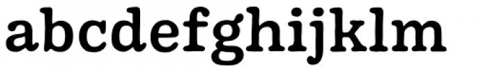 Pueblito Medium Font LOWERCASE