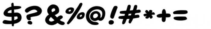 Pugnax Bold Font OTHER CHARS