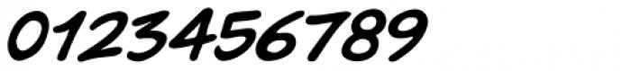 Pugnax Italic Font OTHER CHARS