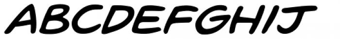 Pugnax Italic Font UPPERCASE