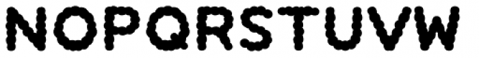 Pukupuku japan Font UPPERCASE