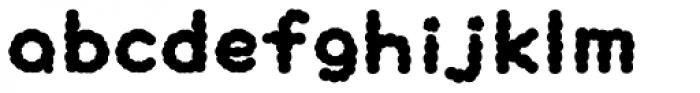 Pukupuku Font LOWERCASE