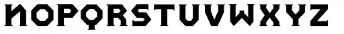 Pullman Normal Font UPPERCASE