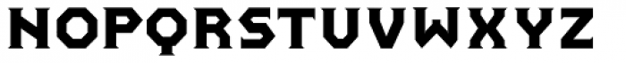 Pullman Normal Font LOWERCASE