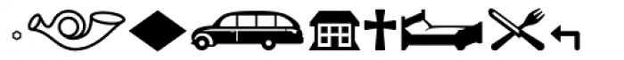 Pullman Symbol Font UPPERCASE