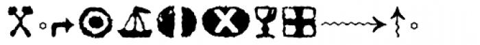 Pullman Symbol Font LOWERCASE