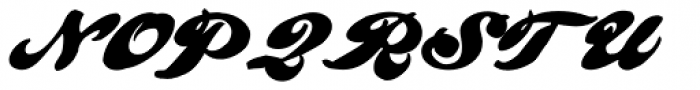 Pullman Font UPPERCASE