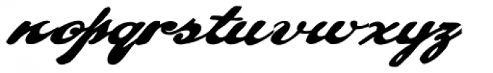 Pullman Font LOWERCASE