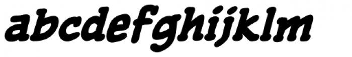 Pulp Fiction Heavy Italic Font LOWERCASE
