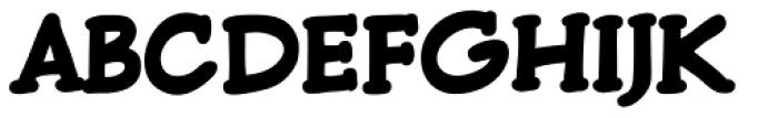 Pulp Fiction Heavy Font UPPERCASE