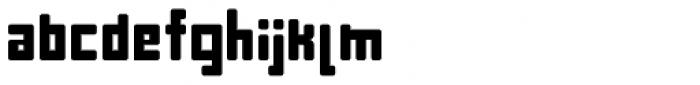 Puls 2012 Font LOWERCASE