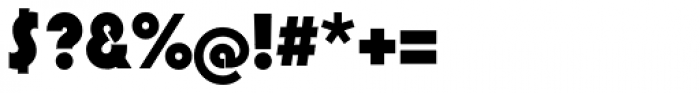 Pump Std Bold Font OTHER CHARS