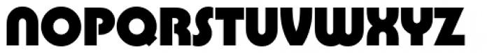 Pump Std Bold Font UPPERCASE