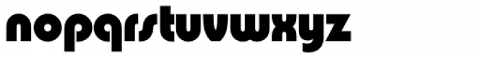 Pump Std Bold Font LOWERCASE