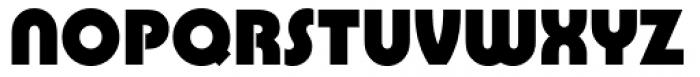 Pump Font UPPERCASE
