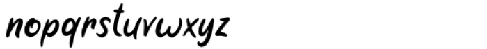 Pumpkin Web Regular Font LOWERCASE